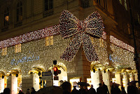 The Lead CRA visits Vienna Austria and it is all lit up for the holidays