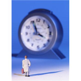 time marches on in a clinical trial