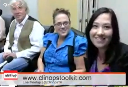 YouTube Capture Meet the Authors of ClinOps Toolkit4