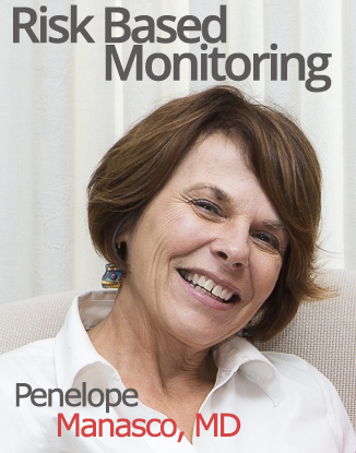 Penelope Manasco is a good clinical professional who knows about risk-based monitoring!