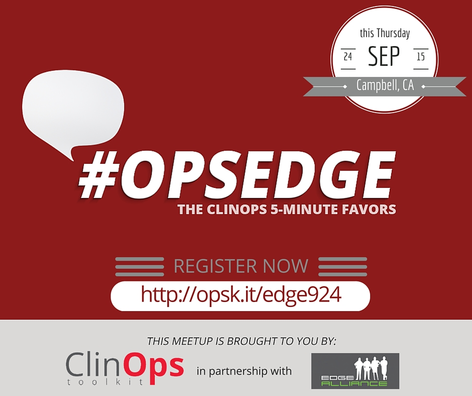ClinOps Toolkit has partnered with Edge Alliance for OpsEdge networking