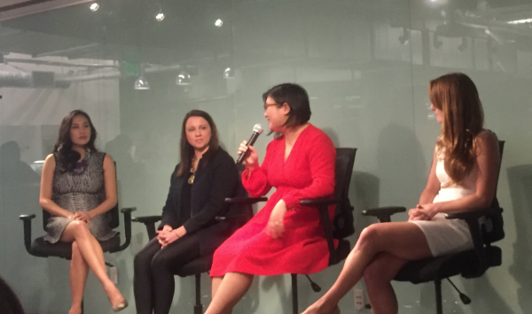 Cralifestyle attending a women in tech event in san francisco