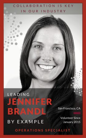 Jennifer Brandl believes the best way to volunteer is to elevate others