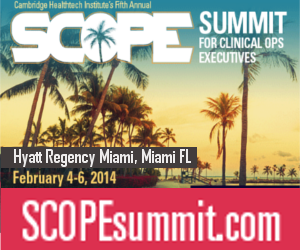Meet Nadia from ClinOps Toolkit at SCOPE in Miami Feb 4th, 2014 @ 1:35pm